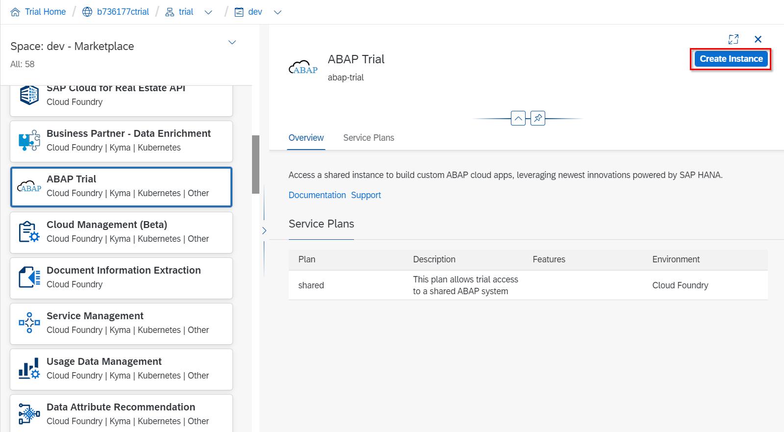 RAP】ABAP on Cloudトライアル環境の設定 - Qiita